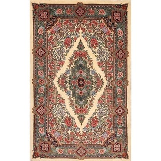 """Sarouk Persian Oriental Floral Area Rug for Hand Made Traditional - 6'8"""" x 4'3"""""""