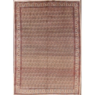 "Hand Made Wool Traditional Mood Persian Paisley Area Rug - 11'2"" x 8'0"""