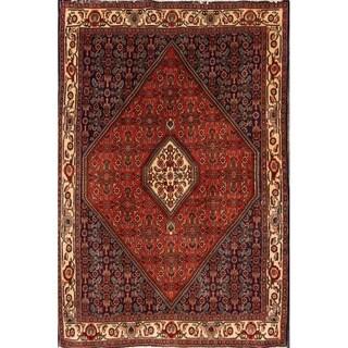 "Traditional Hand Knotted Wool Bidjar Persian Geometric Area Rug - 5'7"" x 3'9"""