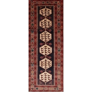 """Hand Knotted Wool Traditional Shahrbabak Persian Rug Tribal - 9'8"""" x 3'9"""" runner"""