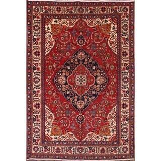 "Vintage Hand Made Traditional Tabriz Persian Area Rug - 11'10"" x 8'0"""
