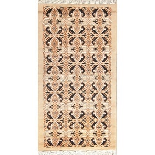 "Moroccan Oriental Traditional hand Made Area Rug Tribal Carpet - 6'7"" x 3'6"""