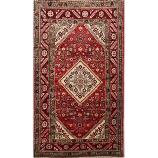 "Geometric Zanjan Geometric Hand Made Traditional Persian Area Rug - 6'10"" x 3'11"""