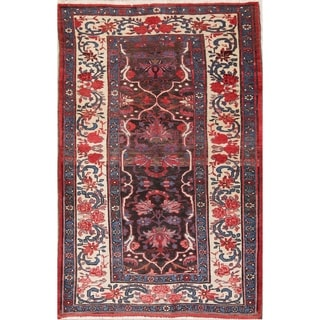 "Hand Made Bidjar Persian Vintage Traditional Floral Area Rug - 6'10"" x 4'5"""