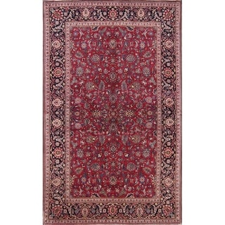 "Antique Kashan Persian Floral Hand Made Traditional Area Rug - 6'9"" x 4'3"""