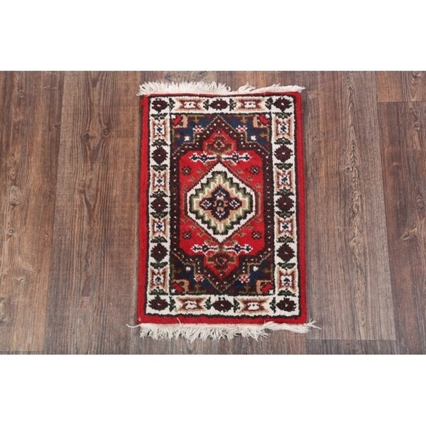 Hand Knotted Heriz Wool Fine Persian Oriental Area Rug: Shop Heriz Jaipur Traditional Hand Knotted Wool Oriental