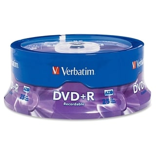Verbatim AZO DVD+R 4.7GB 16X with Branded Surface - 25pk Spindle - TA