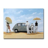 The 600 by Guido Borelli Gallery Wrapped Canvas Giclee Art (18 in x 24 in, Ready to Hang)