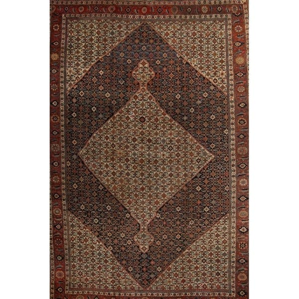 Antique Bidjar Hand Made Persian Traditional Area Rug