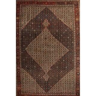 """Antique Bidjar Hand Made Persian Traditional Area Rug Blue - 20'8"""" x 13'9"""""""