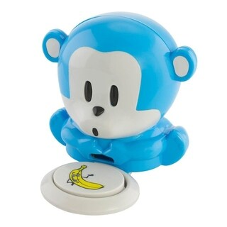 Fine Life Monkey Shaped Plastic Nail Polish Dryer - BLue/White - N/A