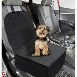FineLife 2 In 1 Polyester Pet Front Car Seat Cover - N/A - N/A