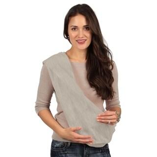 Karma Grey Breathable Cotton Fabric Baby Sling - Medium - N/A