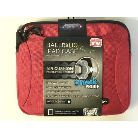 Ballistic iPad Case: Designed to Fit Apple iPad & iPad 2 - RED