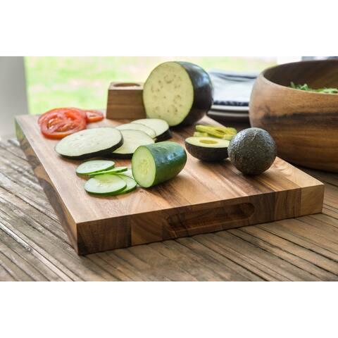 Ironwood Gourmet Small Long Grain Chop Board, Acacia Wood