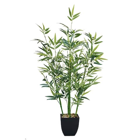 "32"" Tabletop mini bamboo plant In Planter"