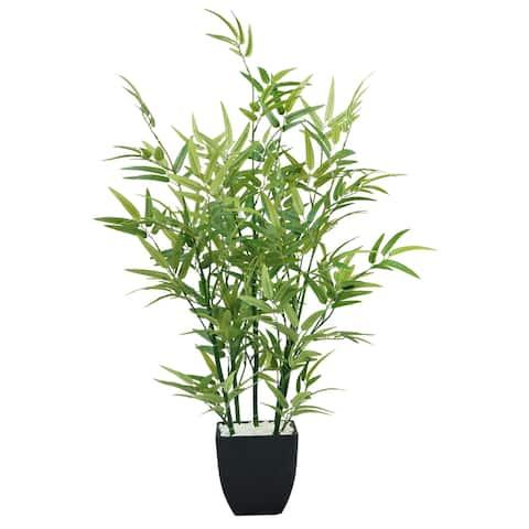 "29"" Tabletop Mini Bamboo Plant in Planter"