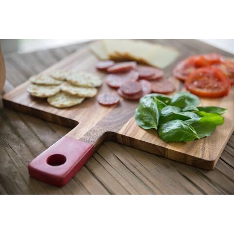 Ironwood Gourmet Square Paddle Board, Acacia Wood, Cherry