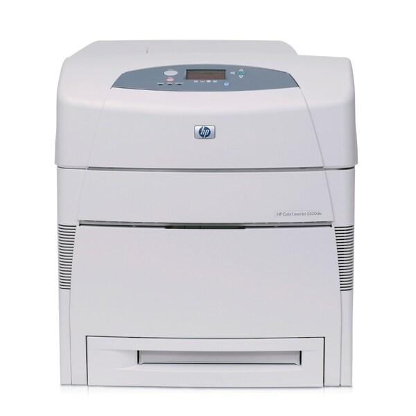 Shop HP LaserJet 5550DN Laser Printer - Color - Free ...