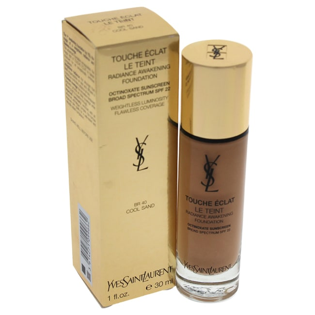 Yves Saint Laurent Le Teint Touche Eclat Radiance Awakening Foundation SPF 22 BR40 Cool Sand