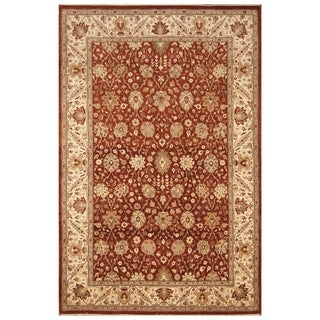 Handmade Tabriz Wool and Silk Rug (Pakistan) - 6'1 x 9'5
