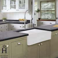 Highpoint Collection 36-inch Solid Reversible Farmsink Farmhouse Sink - 36 x 18 x 9.65