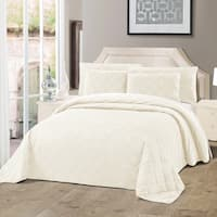 Serenta Velvet Quilts 5 Piece Ultra Soft Floor Touching Bedspread Set