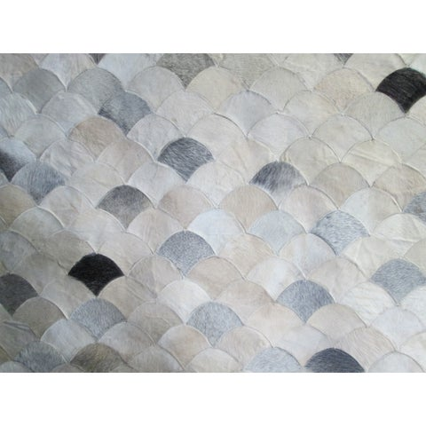 Cream 5x7 Patchwork - 5' x 7'