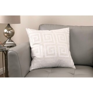 Laguna Contemporary Decorative Feather and Down Throw Pillow