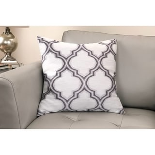 Aria Contemporary Decorative Feather and Down Throw Pillow