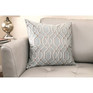 Frances Contemporary Decorative Feather and Down Throw Pillow
