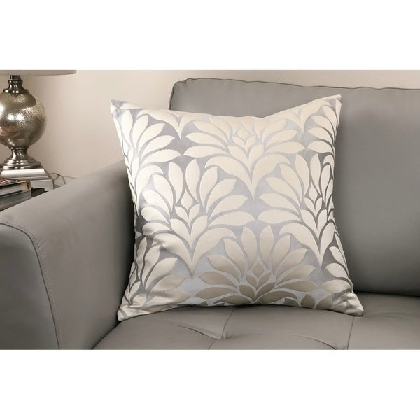 Gisela Contemporary Decorative Feather and Down Throw Pillow