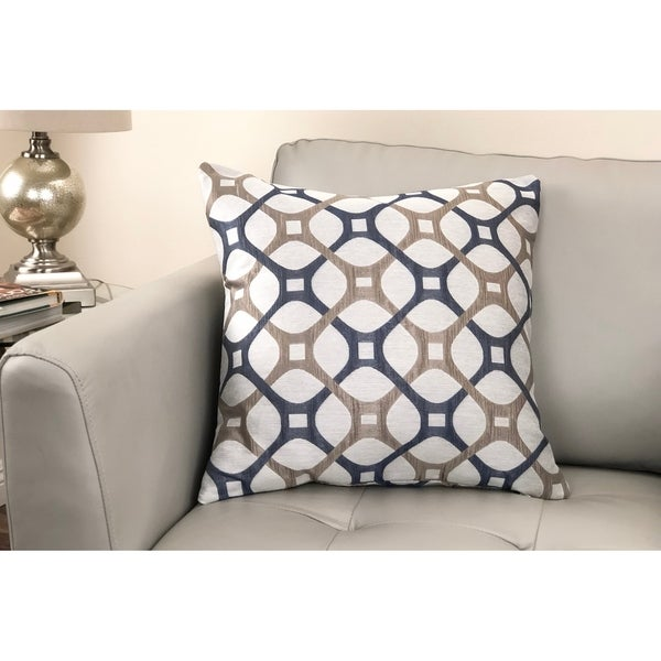 Roxbury Contemporary Decorative Feather and Down Throw Pillow