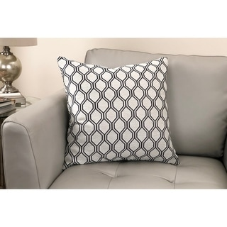 Andante Contemporary Decorative Feather and Down Throw Pillow