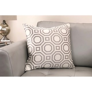 Warren Contemporary Decorative Feather and Down Throw Pillow