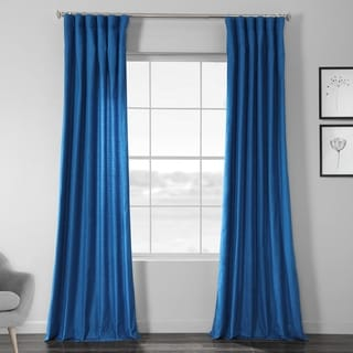 Link to Exclusive Fabrics Faux Dupioni Shantung Silk Curtain Similar Items in Window Treatments