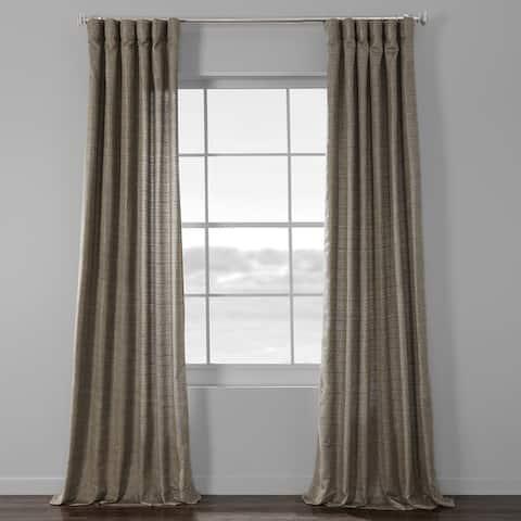 Porch & Den Odell Faux-silk Curtain Panel