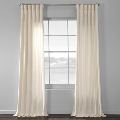Porch & Den Odell Faux-silk Curtain Panel