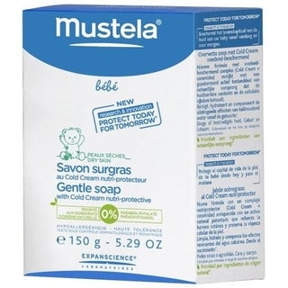Mustela Gentle Soap w/ Cold Cream Nutri-Protective - 6 Pack