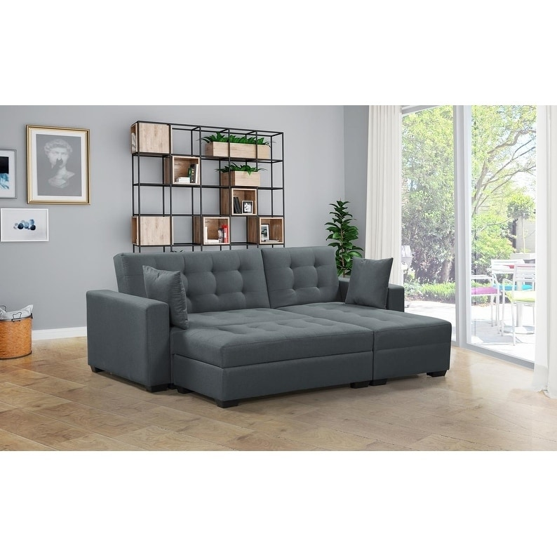 Modern Sofa Bed with Storage Chase | For My House | Sofa bed ...