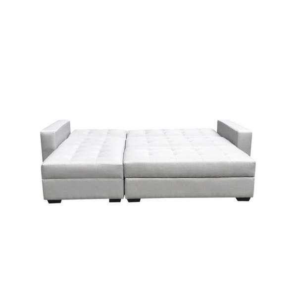 Incredible Shop Broyerk 3 Pc Reversible Sectional Sleeper Sofa Bed Ocoug Best Dining Table And Chair Ideas Images Ocougorg