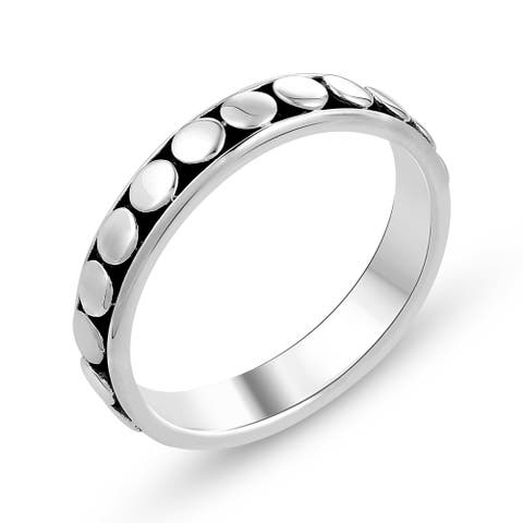Plain Ring in .925 Sterling Silver