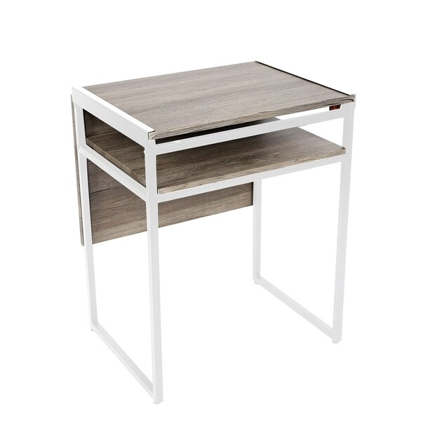 Emaster Small E Multi Functional Desk And Dining Table In White Free Shipping Today 26272441