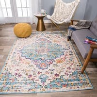 The Curated Nomad Sunset Traditional Vintage Bohemian Rug