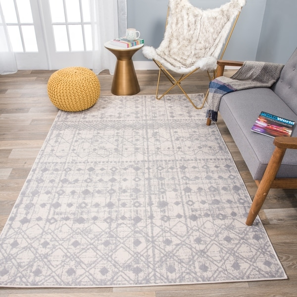 The Curated Nomad Midtown Trellis Geometric Bohemian Rug