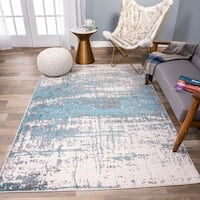 Porch & Den Nellis Distressed Modern Abstract Rug