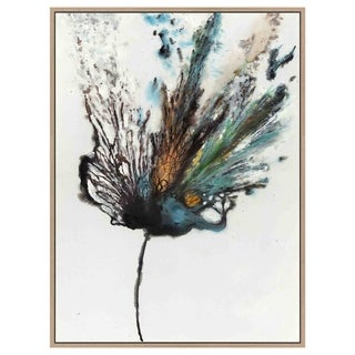 Yosemite Home Décor Flowery Explosion Original Handpainted Wall Art - Multi-color