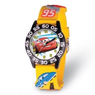 Versil Disney Kids Cars Lightning McQueen Acrylic Time Teacher Watch