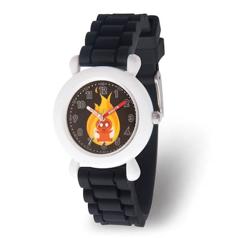 Versil Disney Kids Incredibles 2 Baby Black Band Time Teacher Watch