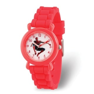 b5ec5d47f Shop Versil Marvel Kids Avengers Spider-man Red Silicone Band Time Teacher  Watch - On Sale - Free Shipping On Orders Over  45 - Overstock - 26273617
